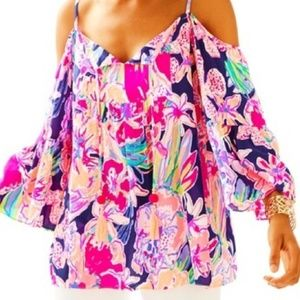 Lilly Pulitzer Alanna Top in Tipping Point